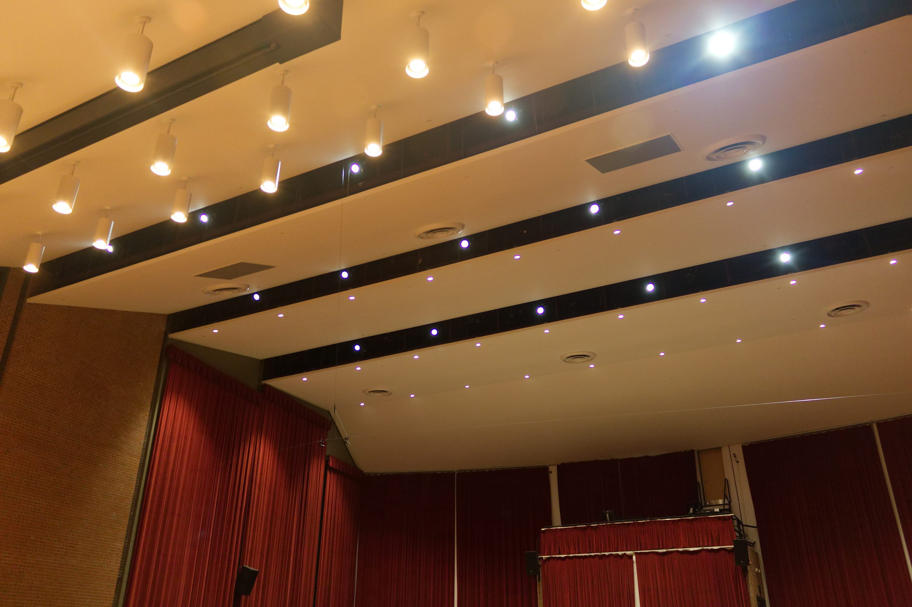 theater acoustic and lighting design towson university