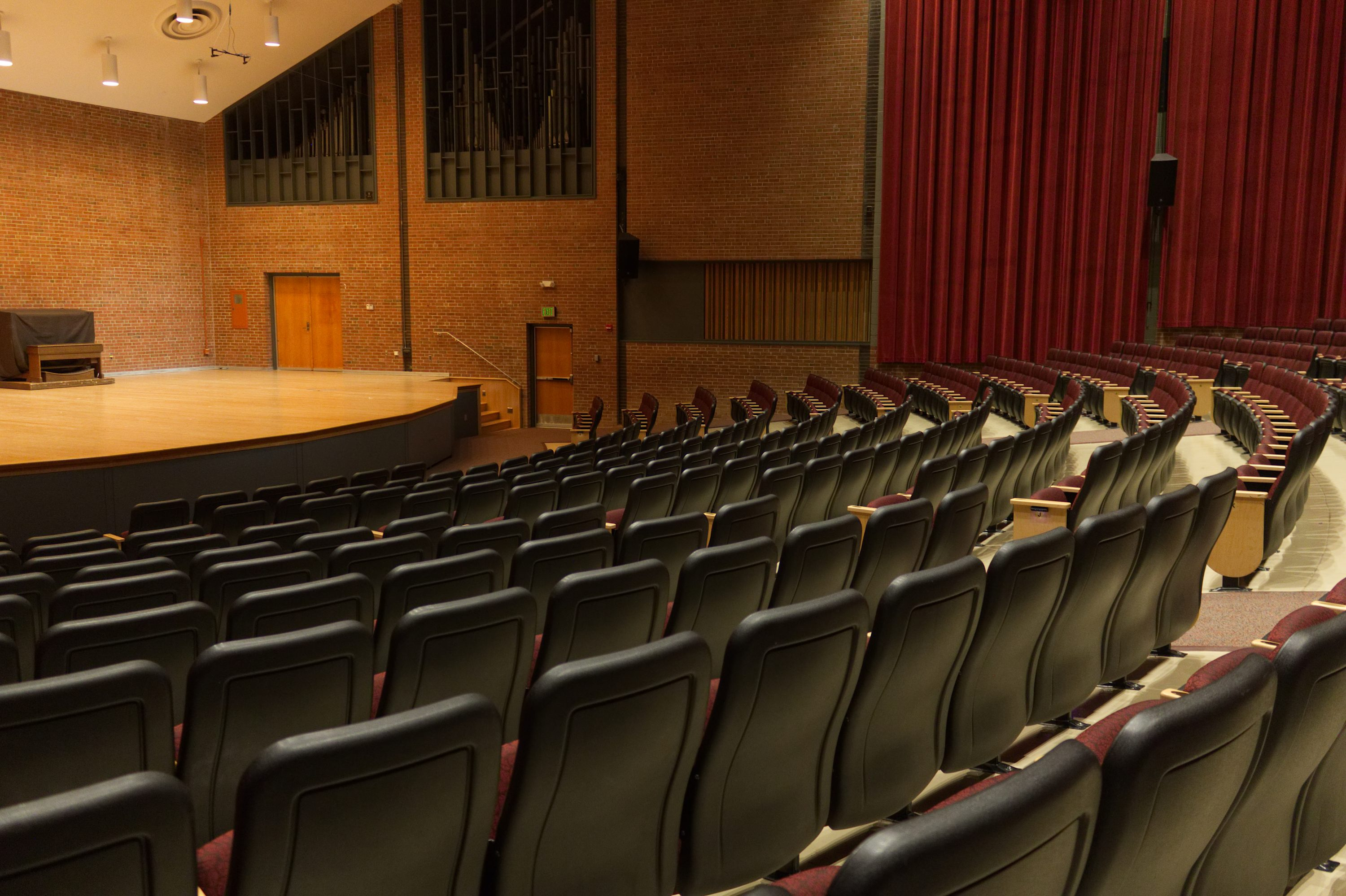theater seating design towson university