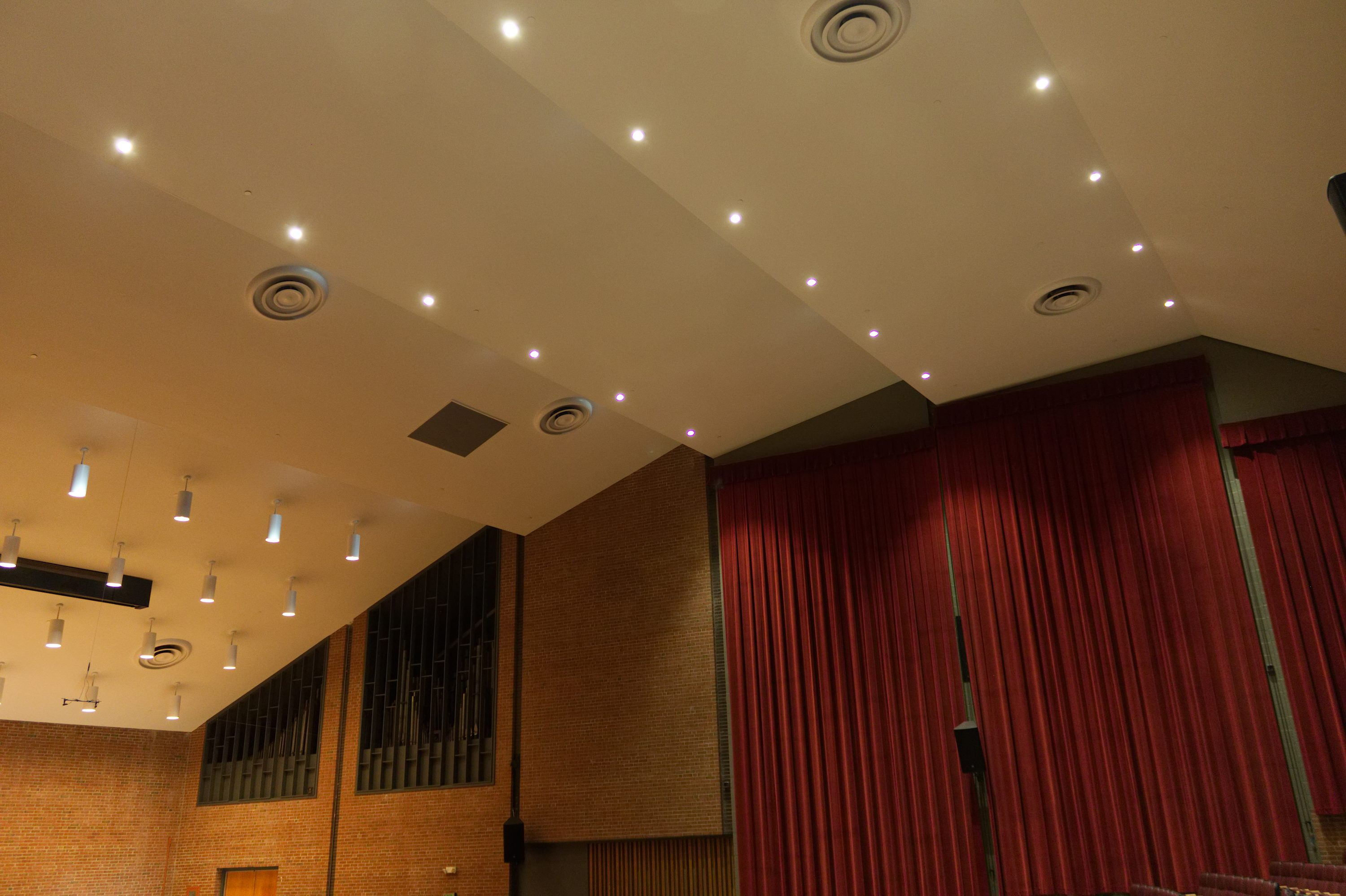 theater acoustic design towson university