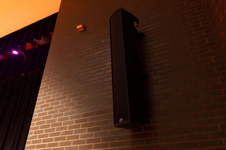 middle school auditorium audio design