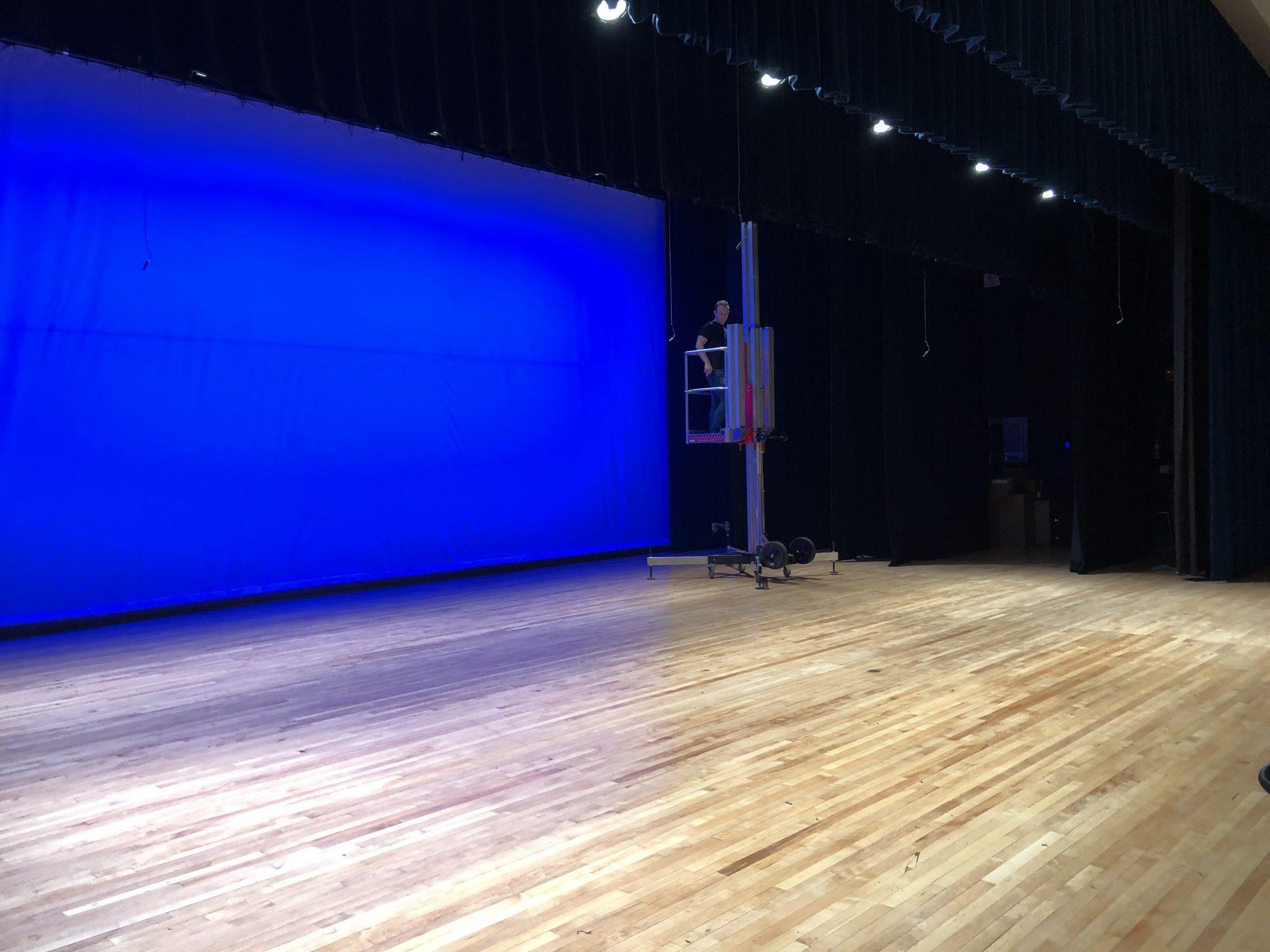 auditorium lighting and stage design