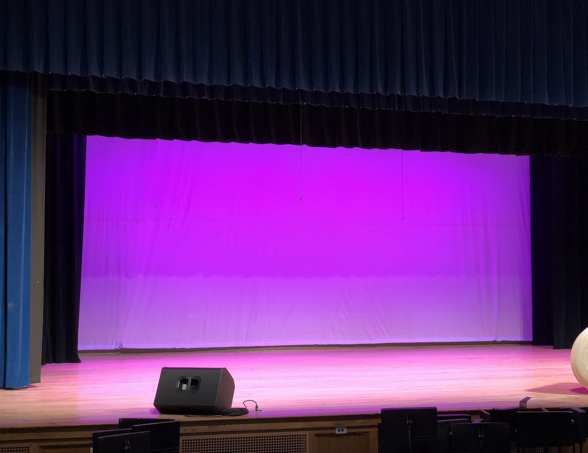 middle school auditorium avl design