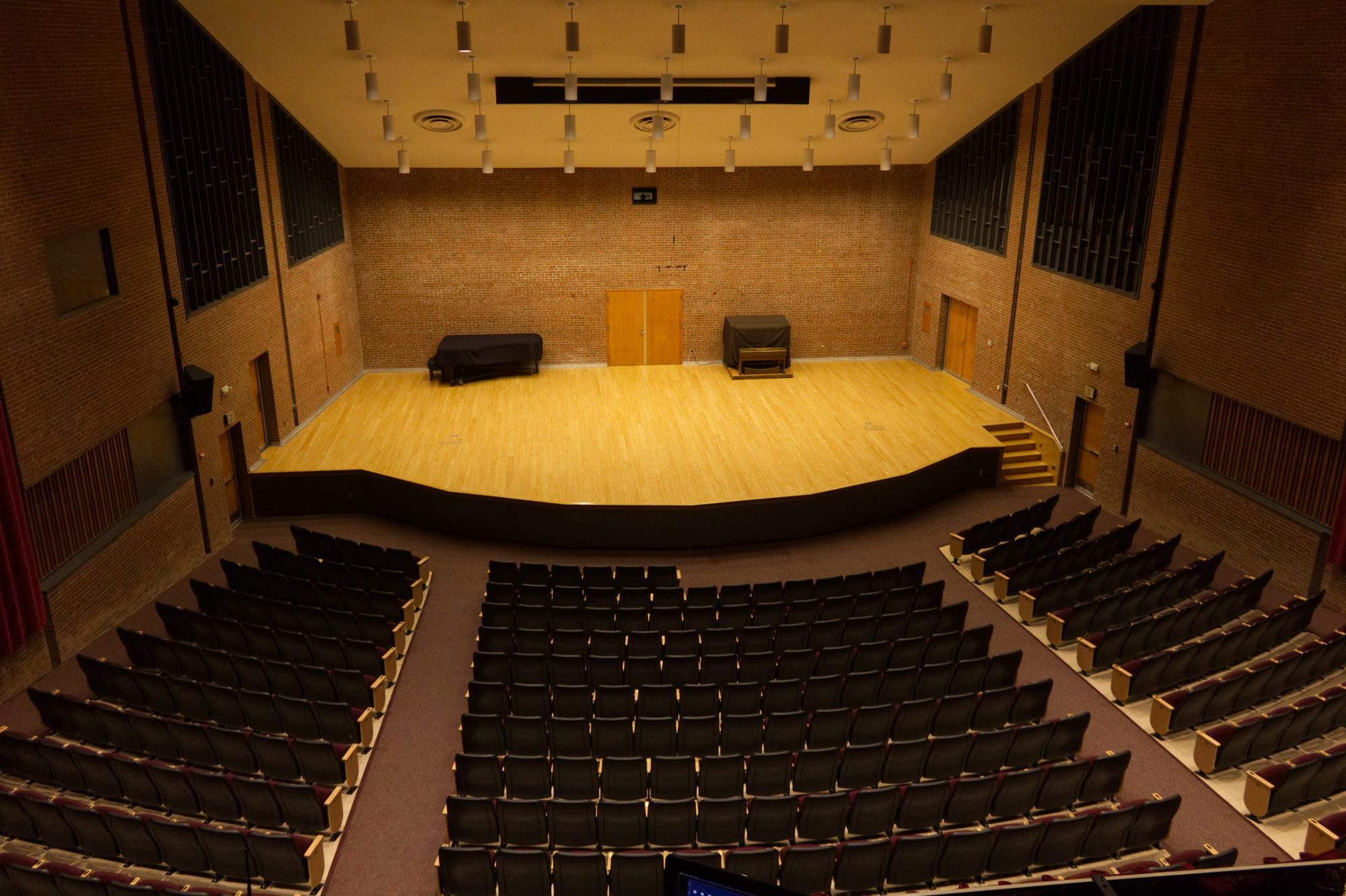 concert hall design towson university