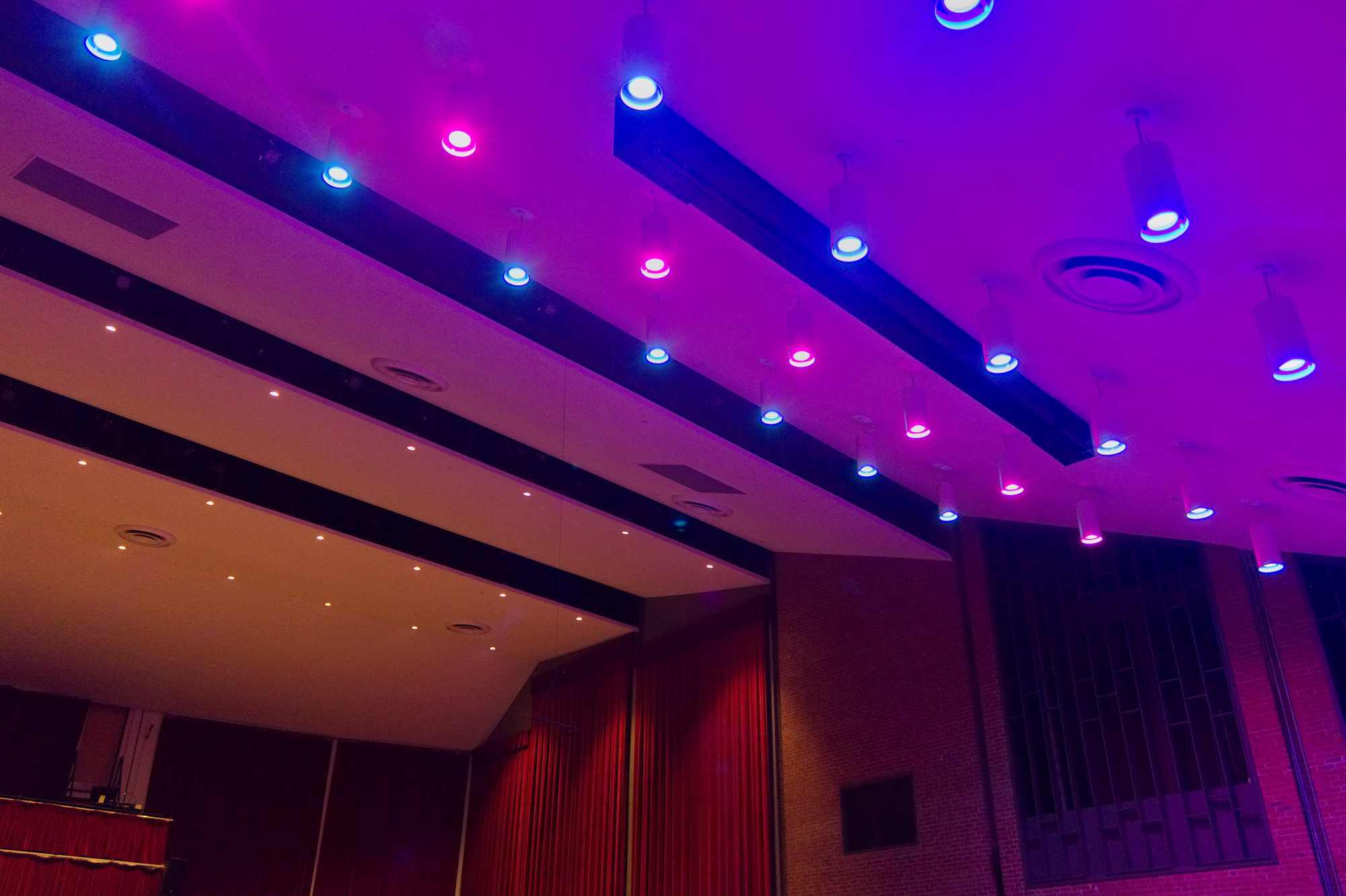 theater lighting design towson university