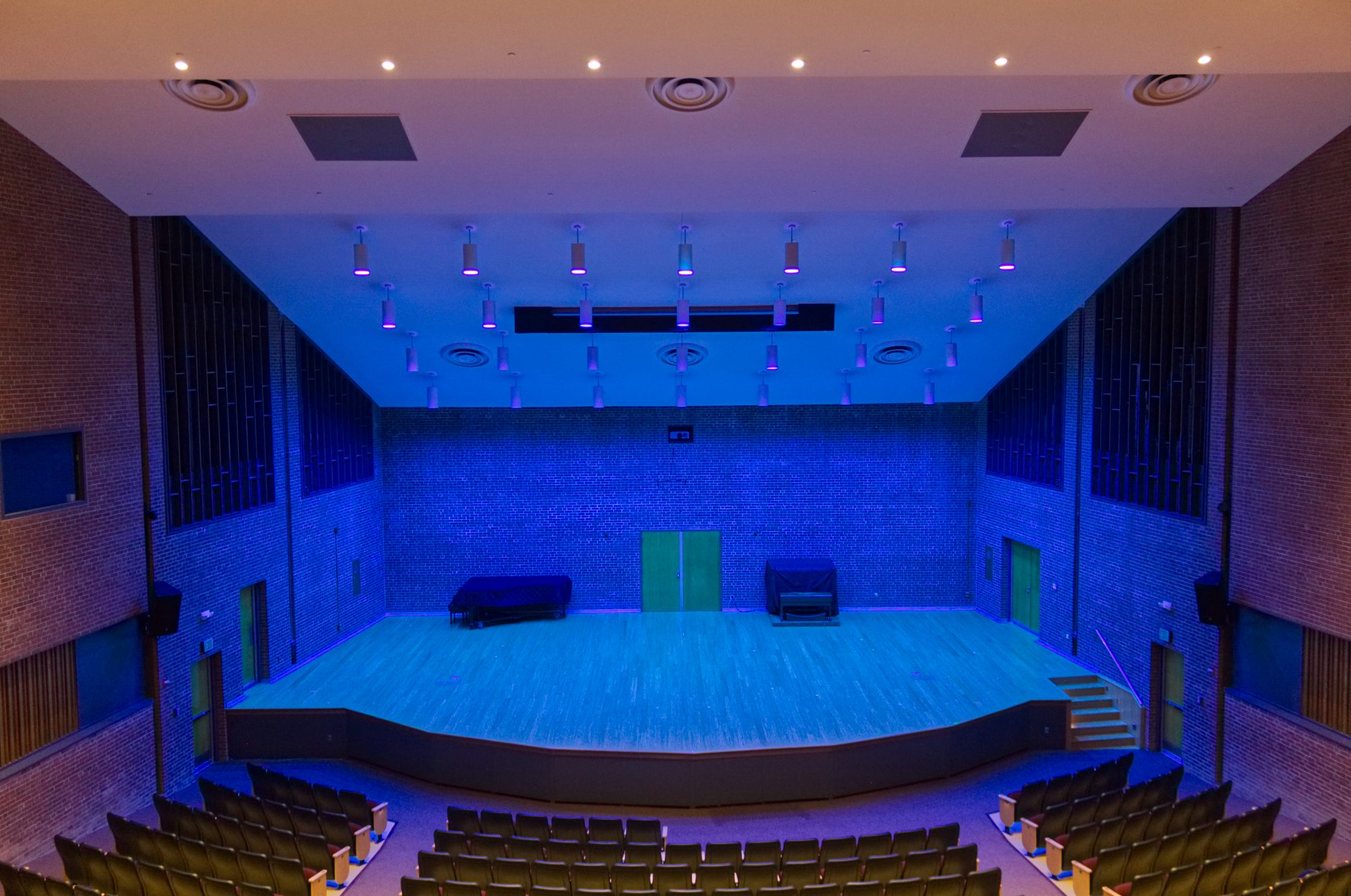 theater lighting towson university