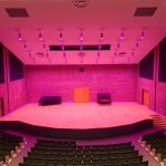 concert hall lighting design towson university