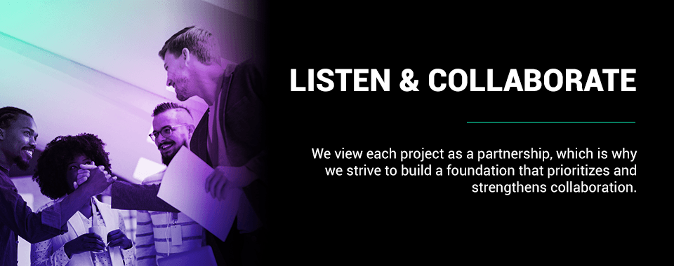 listen and collaborate