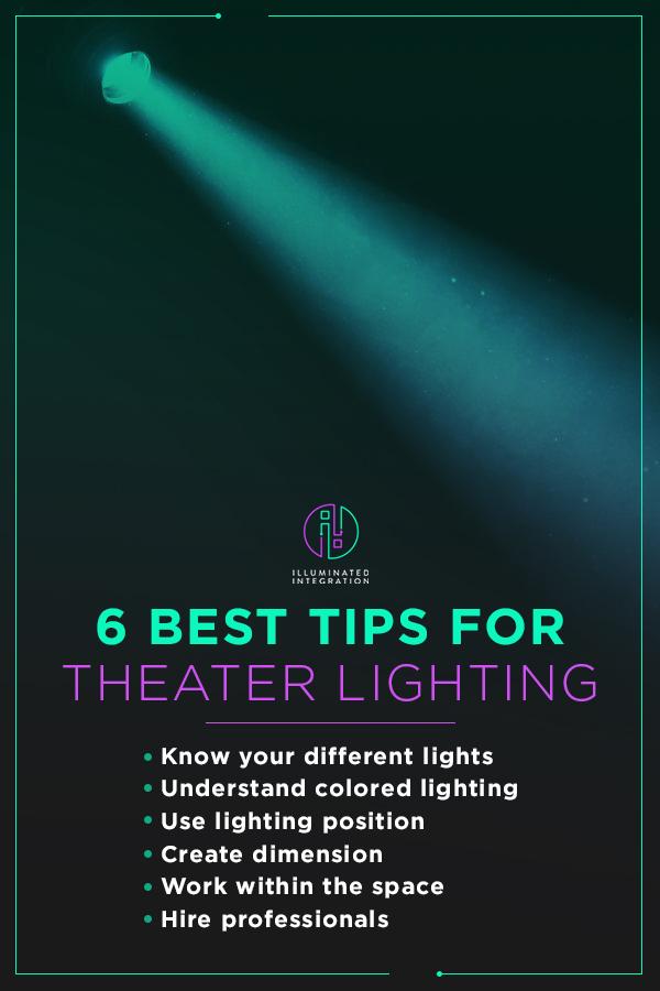 6 tips for theater lighting