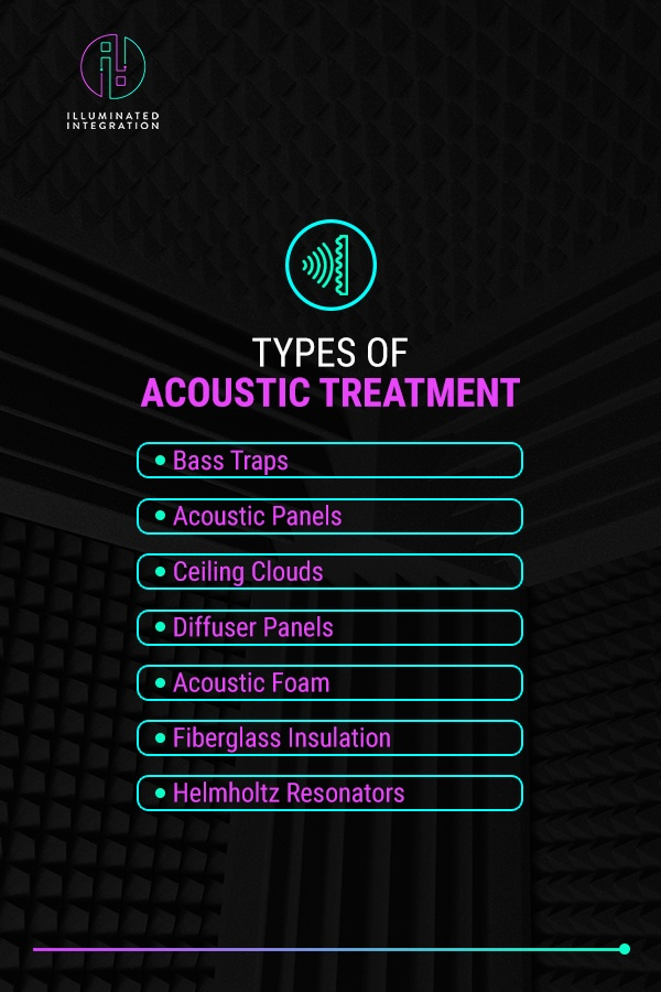 types of acoustic treatment