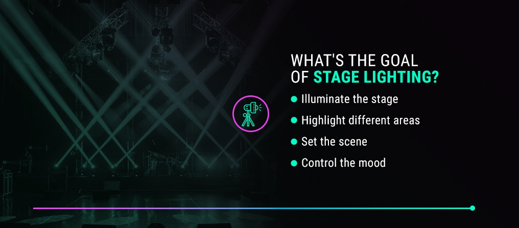 What's the Goal of Stage Lighting?