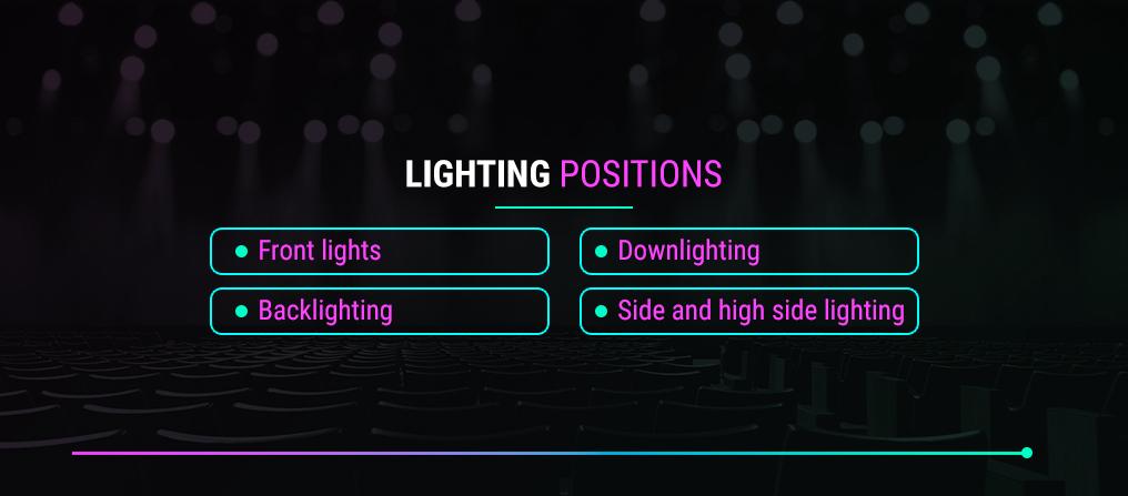 Lighting Positions